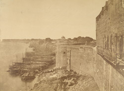 Jumna face of Fort, Allahabad.